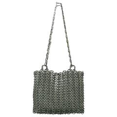 "Paco Rabanne Vintage ""Le 69"" Iconic Metal Chain Mail Bag"