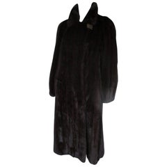 Exclusive Long Mink Fur Coat