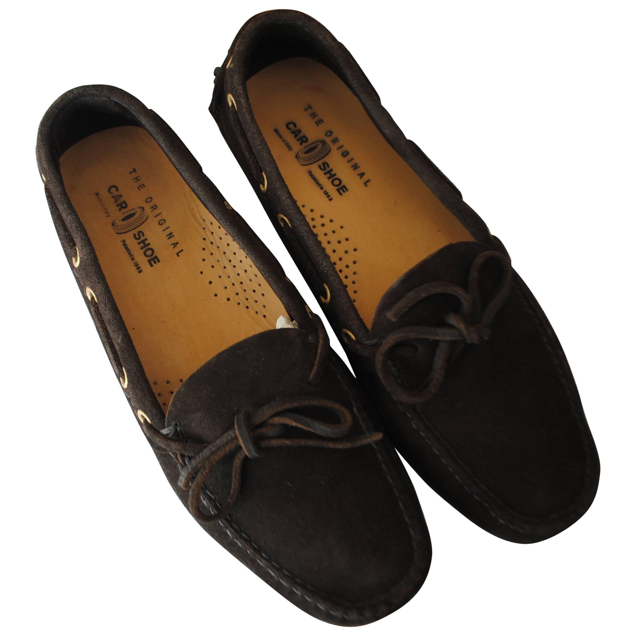 Car Shoe Brown loafer Unworn