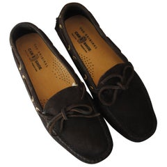 Car Shoe Brown loafer Unworn