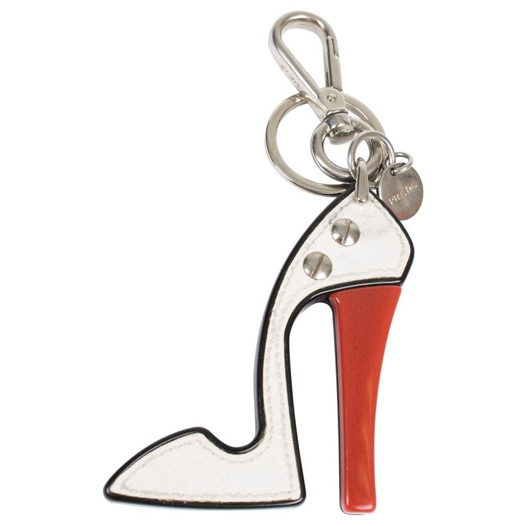 Prada Key Chain - High Heel Shoe  1