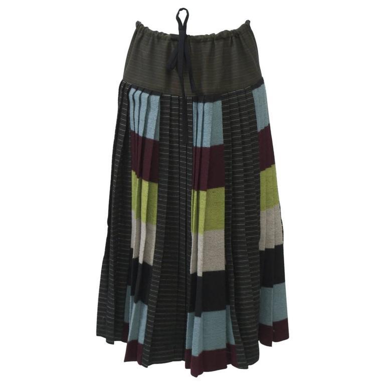 Gaultier Pleated Skirt