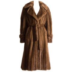 Christian Dior Haute Couture wild mink coat, circa 1960s