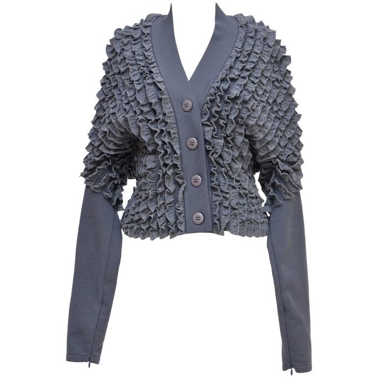 Alaia Ruffle Sweater M New