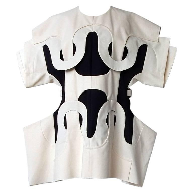 Comme des Garcons Oversized Aerodynamic Link Dress 1