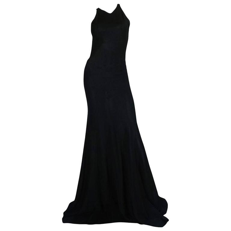 Important Late 1980s Azzedine Alaia Supermodel Length Dress 1