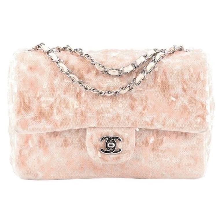 d9df8c1f9949 Chanel Classic Single Flap Bag Sequins Medium at 1stdibs