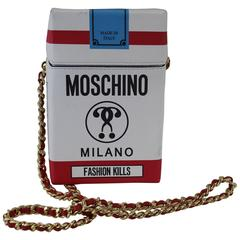 "Moschino ""Fashion Kills"" Bag. Totally Sold Out"