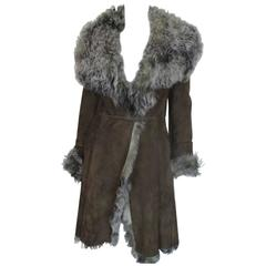 Strenesse Top Quality Soft Tuscan Lamb Shearling Coat
