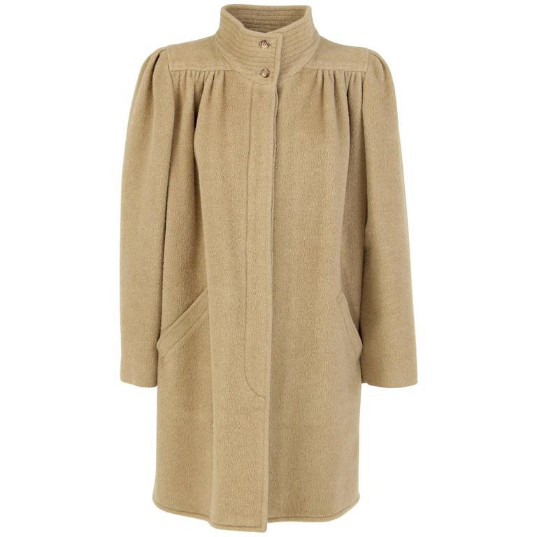 1980s Valentino beige wool Coat