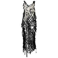 Comme des Garcons Tao Mohair Net Dress