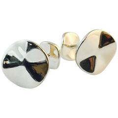 "Men's Ippolita Sterling Silver ""Wave"" Cufflinks"