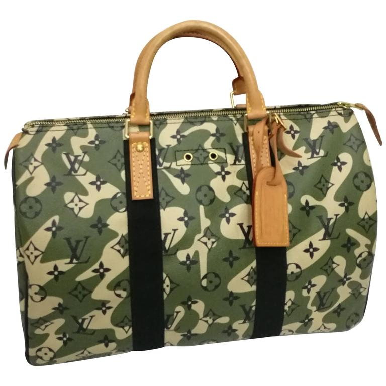 fbec82d237 Rare Louis Vuitton Monogramouflage Collection Speedy 35 at 1stdibs