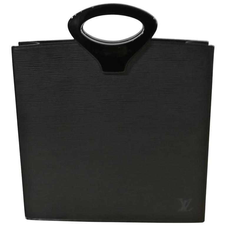 Louis Vuitton  Black Epi Shopper Bag