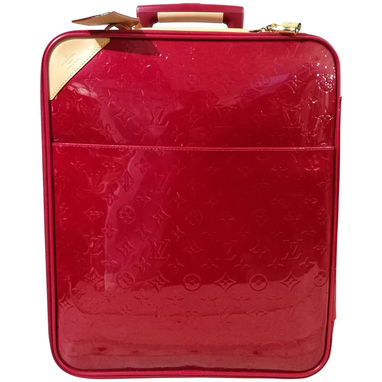 Louis Vuitton Vernis Leather Monogram Trolley