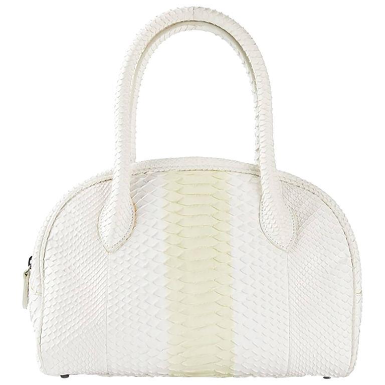 Alaia Python Handbag 1