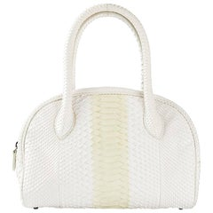 Alaia Python Handbag