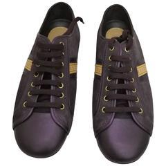 Louis Vuitton Purple Sneakers
