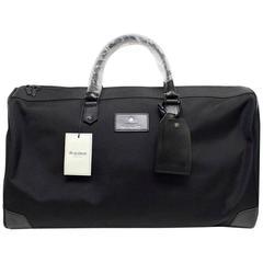 Hardy Amies Black Travel Bag