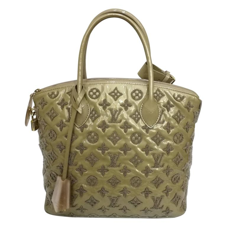 c9a569c7fe089 Louis Vuitton Fascination Lockit Bag at 1stdibs
