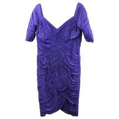 Vintage Loris Azzaro Dress/ Gown.