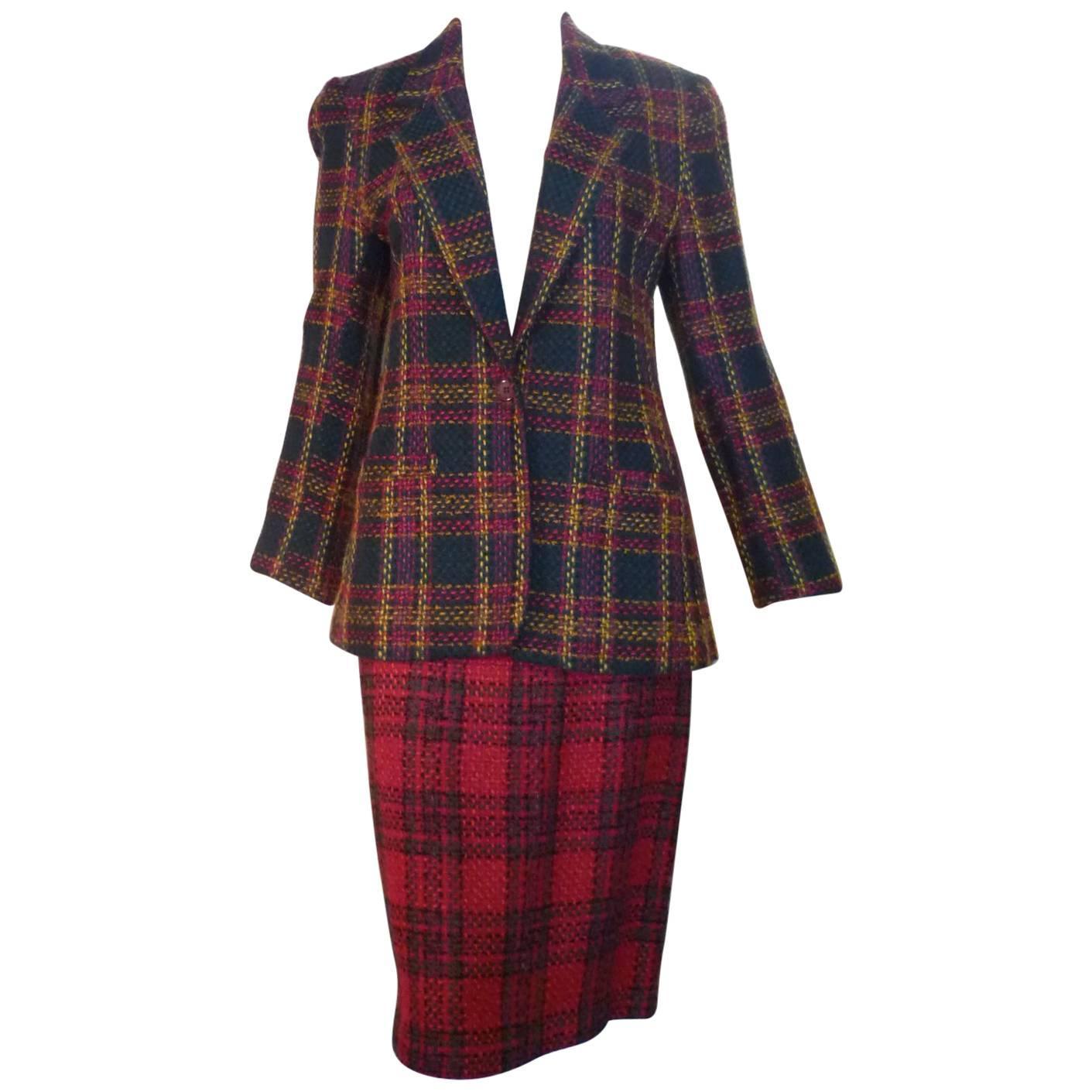 1980s Diane Von Furstenberg Skirt Suit (6/8)