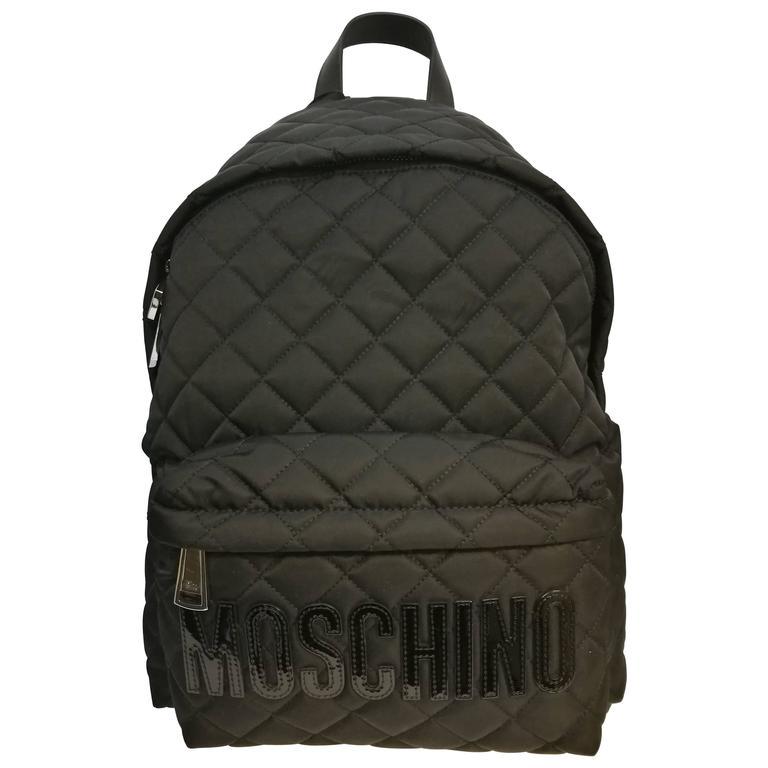 Moschino black backpack 1