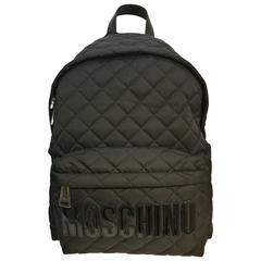 Moschino black backpack