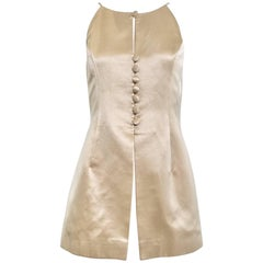 90s Sophie Sitbon Cream silk top