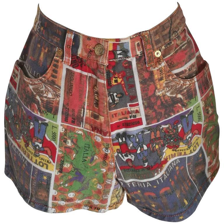 """Moschino junior """"Lotteria Italiana"""" Shorts"""