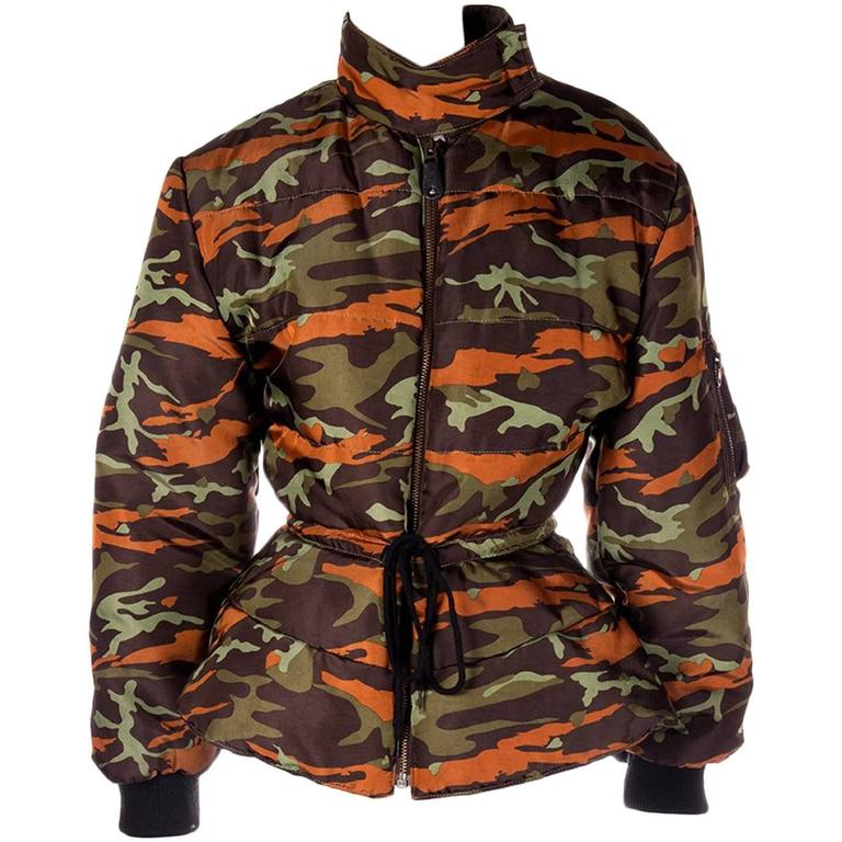 Jean Paul Gaultier Junior Camo Puffer Jacket 1