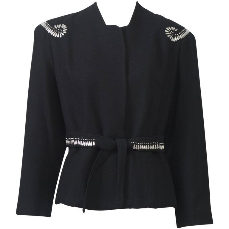 1940s Silver-Studded Jacket