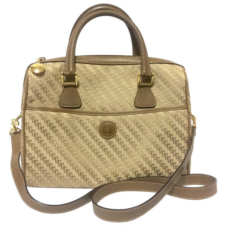 Gucci Chartreuse Canvas Monogram Handbag ZU8sJ