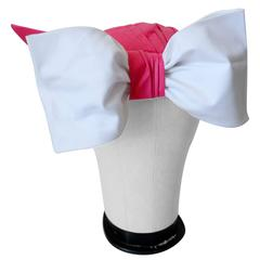 1970s Yves Saint Laurent Turban with Bow