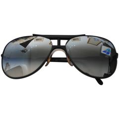 Alitalia Black anthracyte Sunglasses