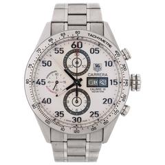 TAG HEUER Carrera Calibre 16 Automatic Chronograph 43mm Day-Date CV2A11 Watch