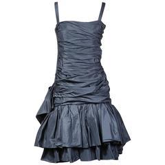 Yves Saint Laurent Haute Couture Dress circa 1980s