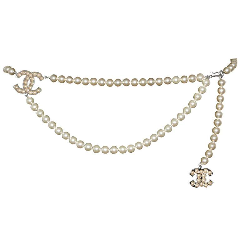 Chanel Pearls Belt 1