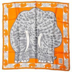 Miss Dior Silk Elephant Scarf