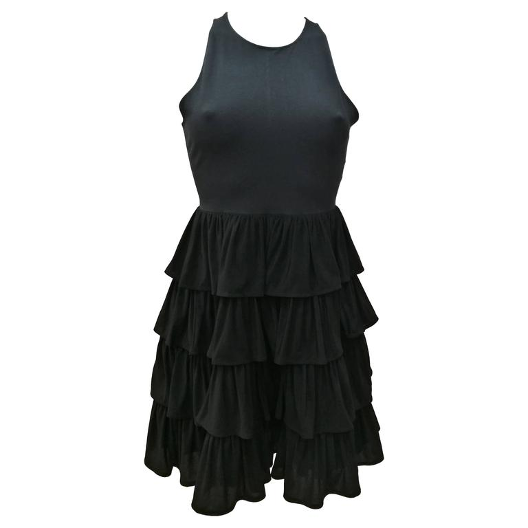 Norma Kamali Little Black Dress