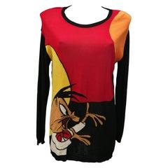 Vintage J. C. de Castelbajac Looney Tunes Pull