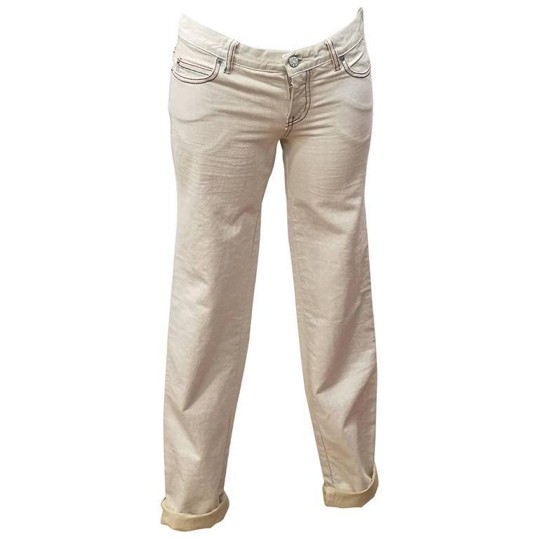 McQ by Alexander McQueen Vintage Cotton Jeans