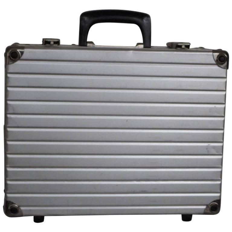 Rimowa luggage small light weight dj suitcase