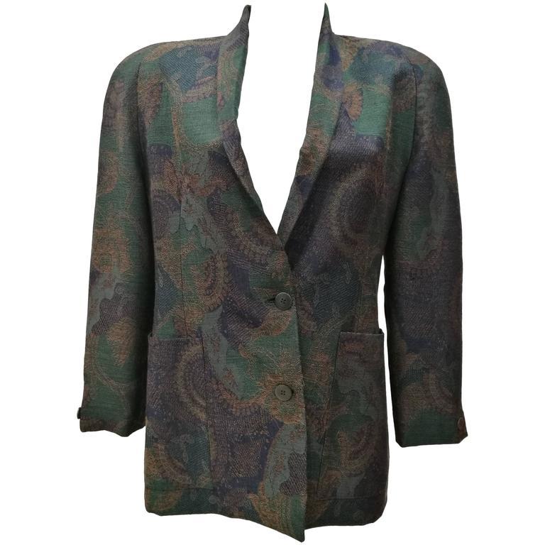 1980s Christian Dior Vintage Jacket 1
