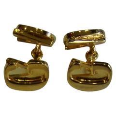 Gianni Versace Gold Cufflinks 1990's