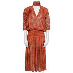 Vintage 1973 Missoni Dress With Belt