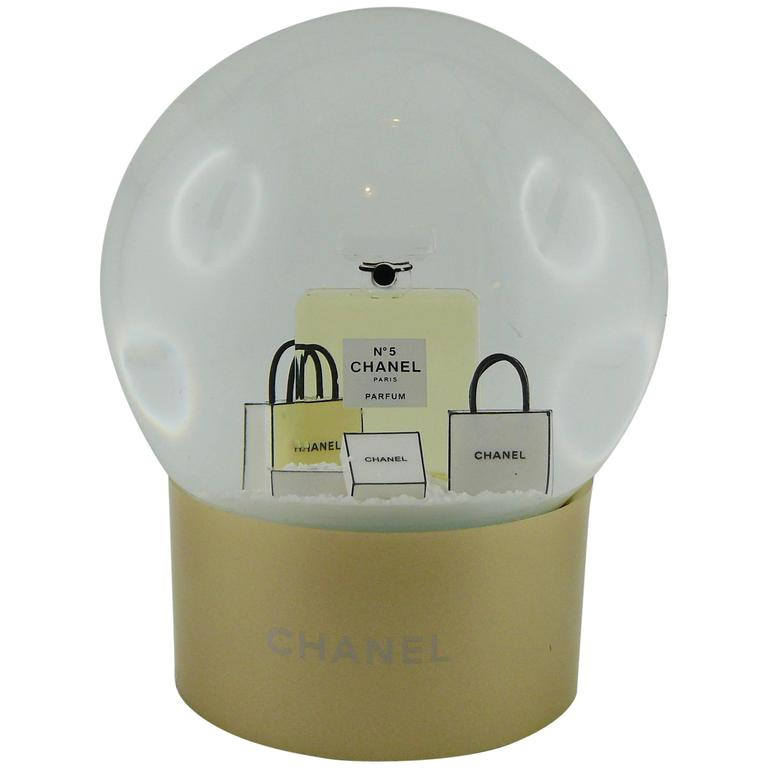 Chanel Snow Dome at 1stdibs