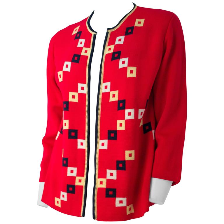 60s Square Knit Cardigan