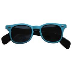 1990s Sunrock LightBlue Sunglasses