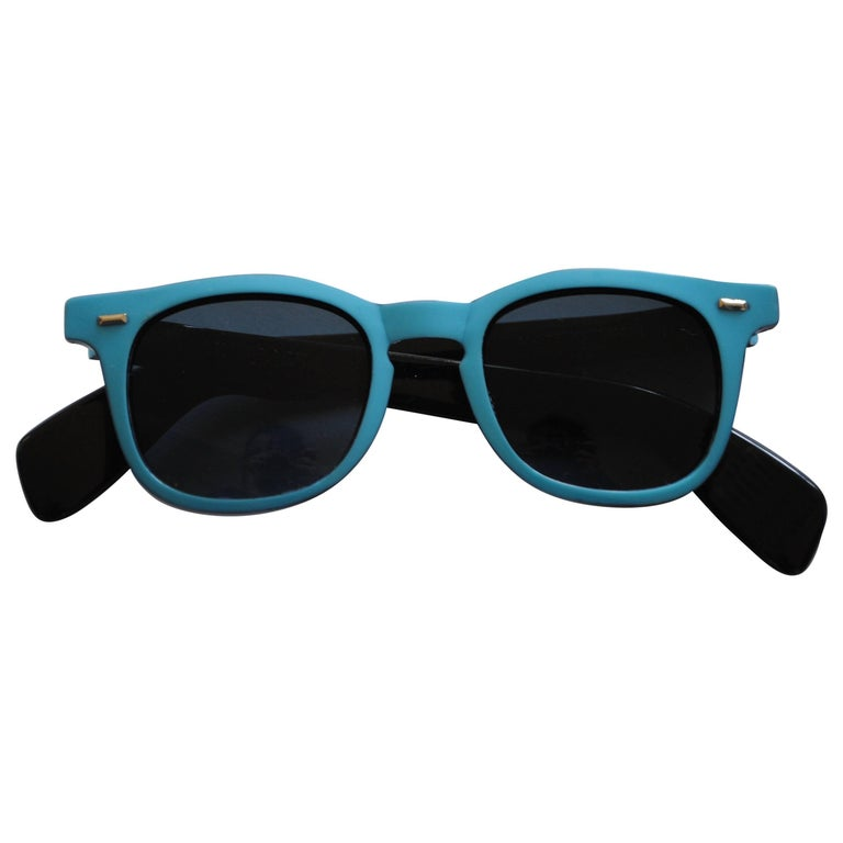 1990s Sunrock LightBlue Sunglasses For Sale